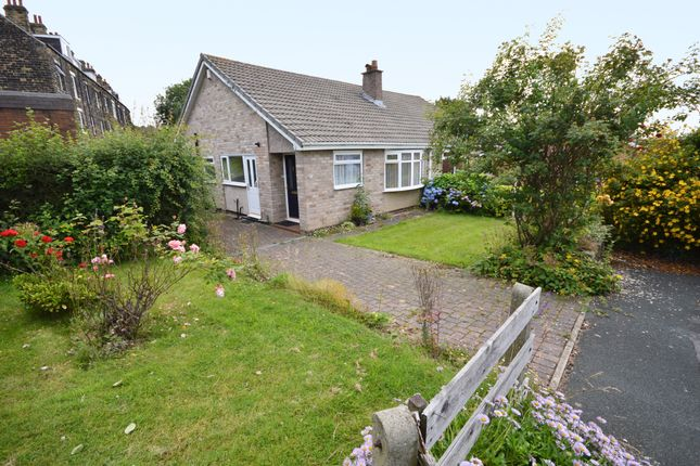 Thumbnail Semi-detached bungalow for sale in Holmwood Grove, Meanwood, Leeds, West Yorkshire.