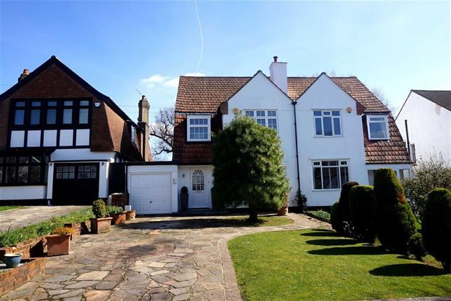 Thumbnail Semi-detached house for sale in Wickham Chase, West Wickham