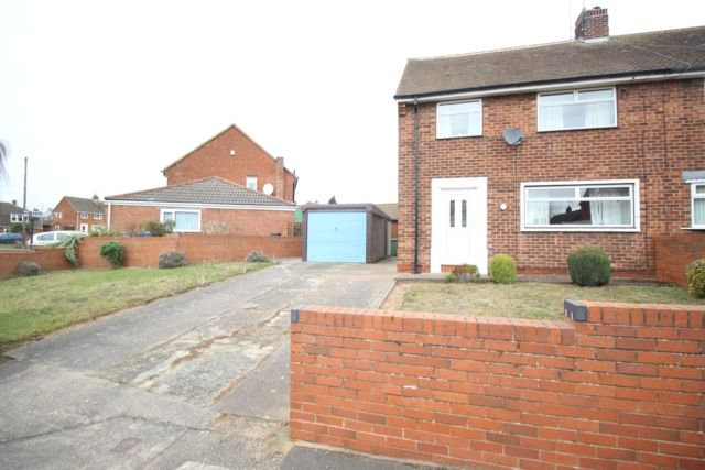 Thumbnail Semi-detached house for sale in Stevenson Road, Worksop