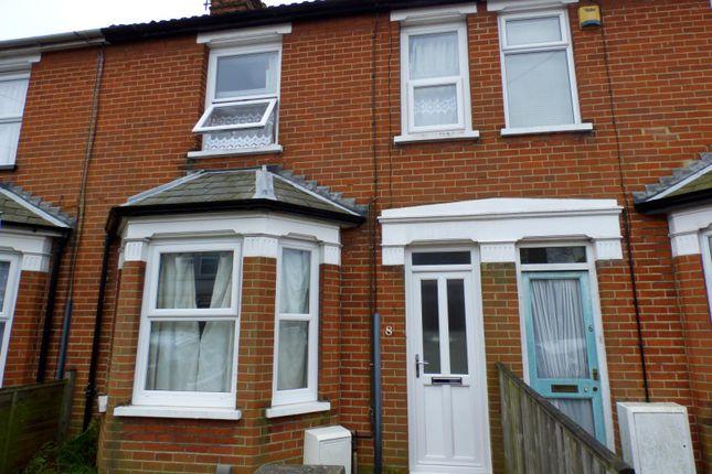 Thumbnail Terraced house to rent in Stradbroke Road, Ipswich