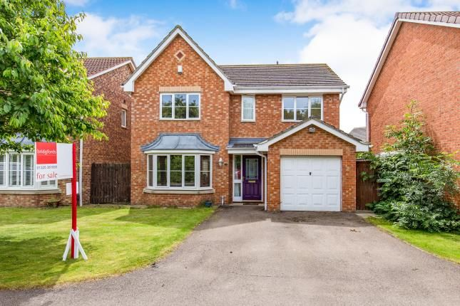 Thumbnail Detached house for sale in Farnborough Court, Middleton St George, Darlington, County Durham