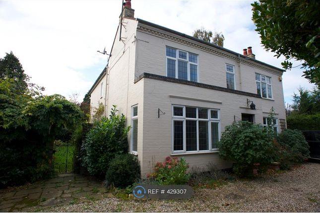 Thumbnail Detached house to rent in Shelford Road, Trumpington, Cambridge