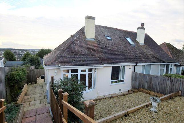 Thumbnail Semi-detached bungalow for sale in Pines Road, Paignton, Devon