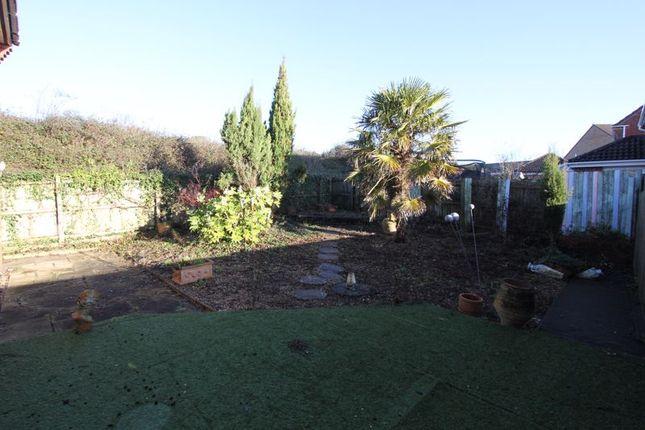 Rear Garden of Maes Y Gwenyn, Rhoose, Barry CF62