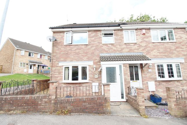 Thumbnail Semi-detached house for sale in Mill Heath, Bettws, Newport
