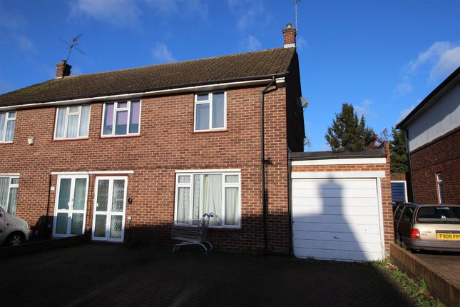 Thumbnail Semi-detached house to rent in Lodge Close, Cowley, Uxbridge
