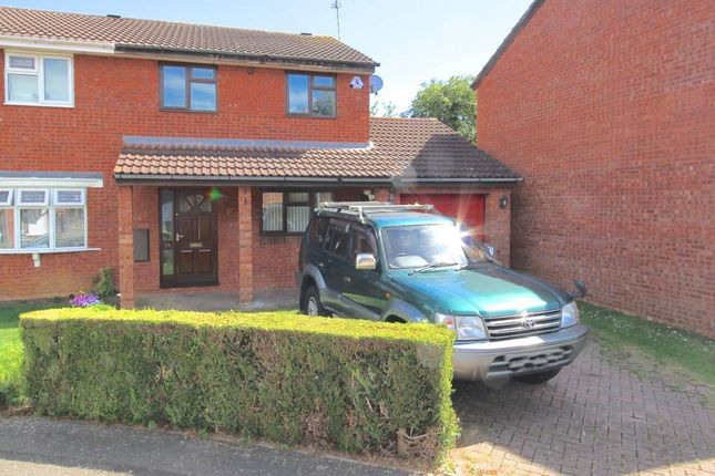 Thumbnail Semi-detached house to rent in Partridge Grove, Werrington, Peterborough