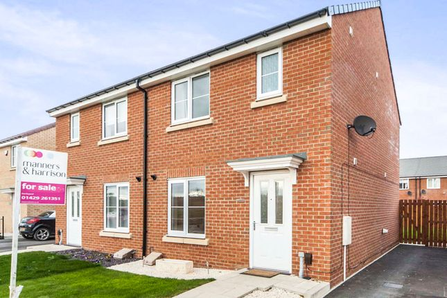 Thumbnail Semi-detached house for sale in Vickers Lane, Seaton Carew, Hartlepool