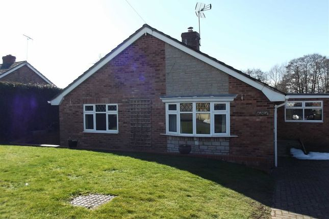Thumbnail Detached bungalow to rent in Sixth Avenue, Ross On Wye, Herefordshire