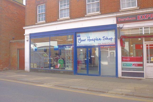 Thumbnail Retail premises to let in High Street, Dereham