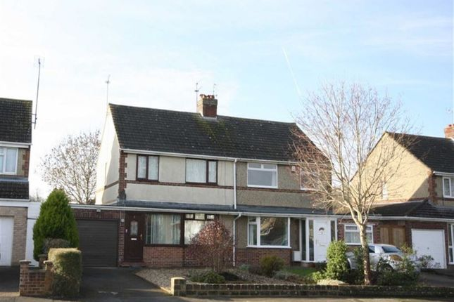 Thumbnail Semi-detached house for sale in Donnington Grove, Swindon