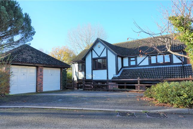 Thumbnail Detached house for sale in The Brackens, Southampton
