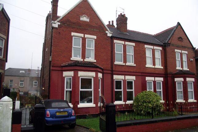 Thumbnail Semi-detached house for sale in Greenbank Road, Birkenhead, Wirral