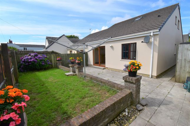 Semi-detached bungalow for sale in St. Annes Drive, New Hedges, Tenby