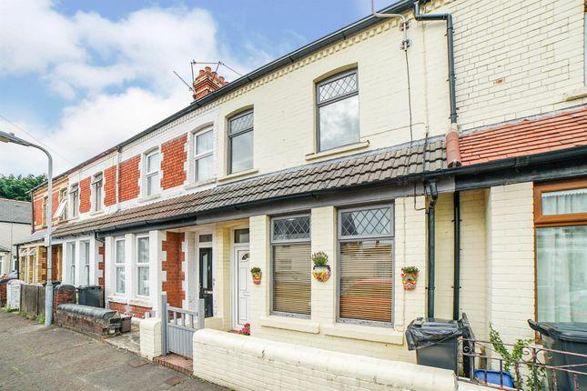 Thumbnail Terraced house for sale in Egerton Street, Canton, Cardiff