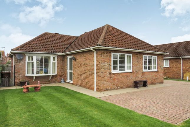 Thumbnail Detached bungalow for sale in Churchview Close, Heckington, Sleaford