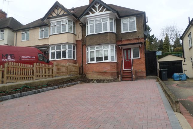 Thumbnail Semi-detached house to rent in Cutenhoe Road, Luton