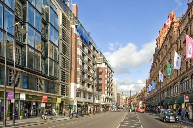 2 bed flat for sale in Brompton Road, Knightsbridge, London