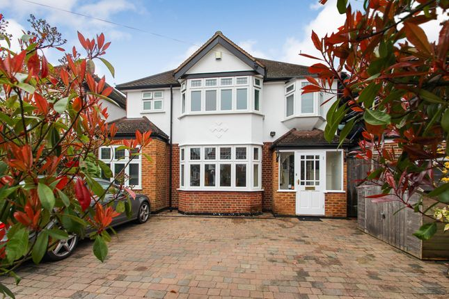 Thumbnail Detached house for sale in Ember Farm Avenue, East Molesey