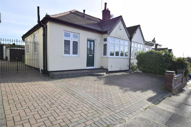 Thumbnail Semi-detached bungalow for sale in David Drive, Romford