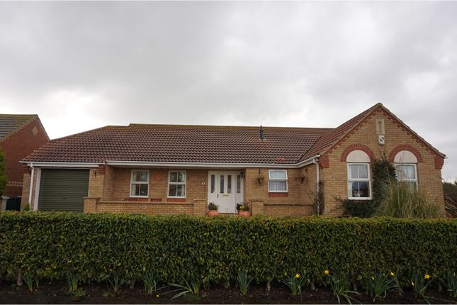 Thumbnail Detached bungalow for sale in Merrills Way, Skegness
