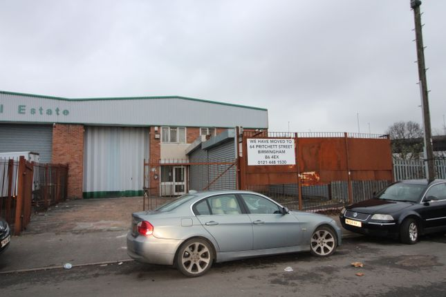 Thumbnail Industrial to let in Aston Hall Road, Aston, Birmingham