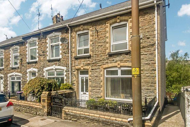 Thumbnail End terrace house for sale in Wainfelin Road, Pontypool