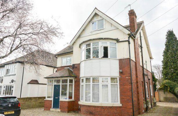 Thumbnail Flat to rent in Harrogate Road, Moortown, Leeds