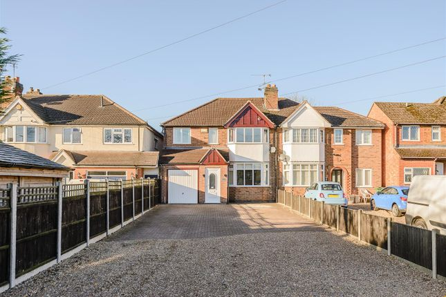 Thumbnail Semi-detached house for sale in Cropston Road, Anstey, Leicester