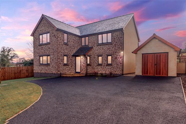 Thumbnail Detached house for sale in Tresseck Mill Road, Hoarwithy, Hereford, Herefordshire