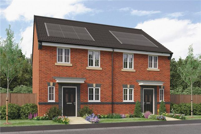 """Thumbnail Semi-detached house for sale in """"Wilde"""" at Southport Road, Chorley"""