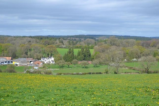 Thumbnail Land for sale in Lot 3 Bream Cross Farm, Coleford Road, Bream, Lydney, Gloucestershire