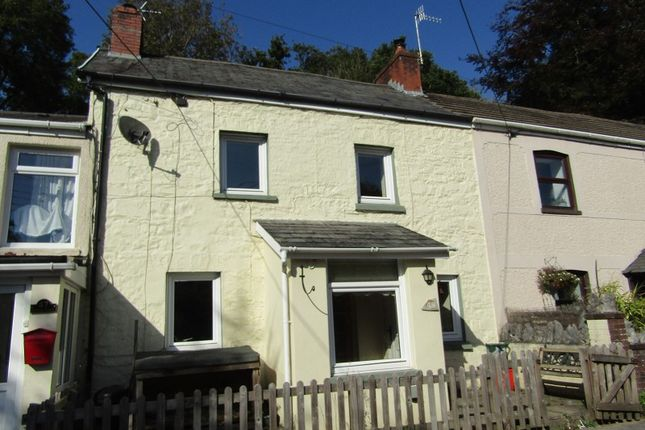 Thumbnail Terraced house for sale in Heol Rheolau, Abercrave, Swansea.