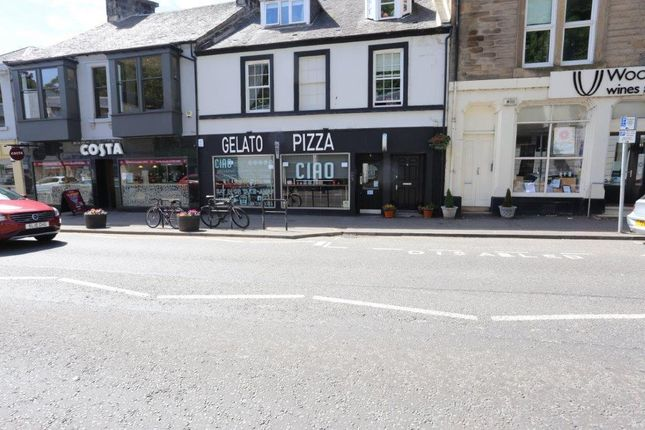 Thumbnail Leisure/hospitality to let in Ciao, 6 Henderson Street, Bridge Of Allan, Stirling