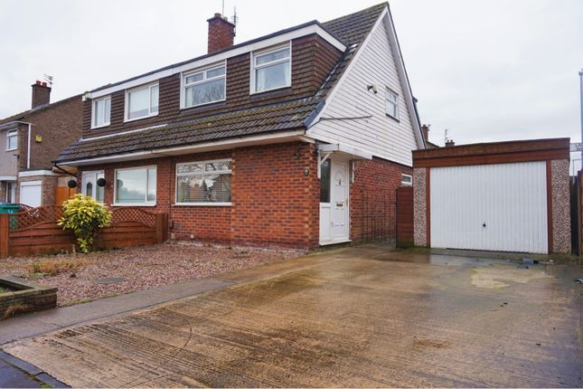 Thumbnail Semi-detached house for sale in Rosslare Road, Manchester