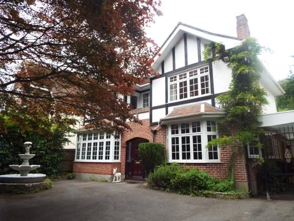 Thumbnail Detached House For Sale In Queens Park Avenue Bournemouth
