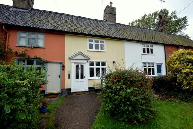 Thumbnail Terraced house to rent in High Street, Wickham Market, Woodbridge