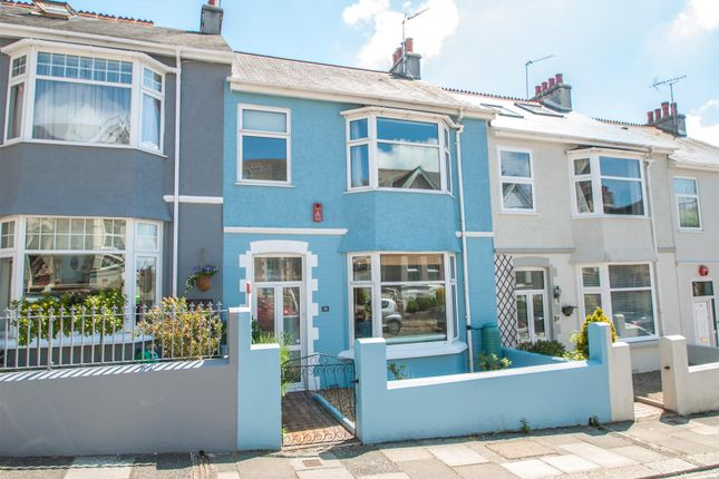 Thumbnail Terraced house to rent in Torr View Avenue, Plymouth