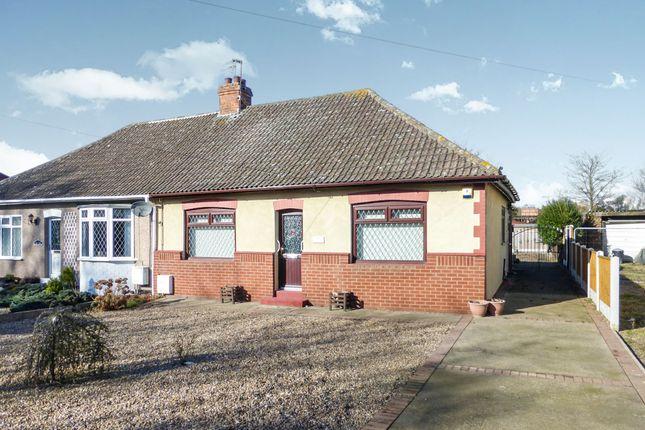 Thumbnail Semi-detached bungalow for sale in Burringham Road, Scunthorpe