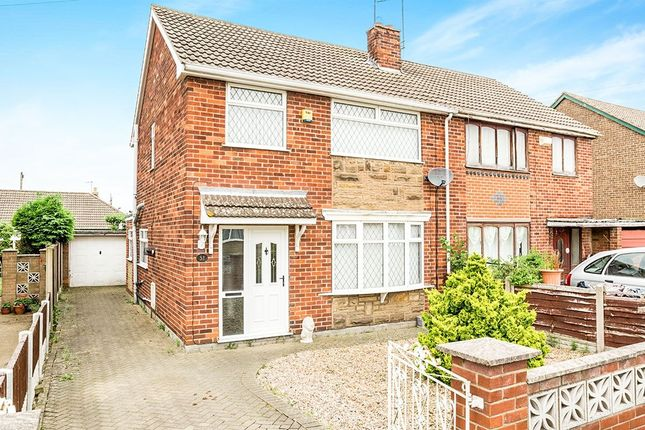 Thumbnail Semi-detached house for sale in Hartland Crescent, Edenthorpe, Doncaster