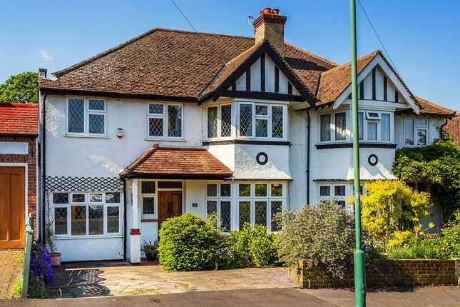 Thumbnail Semi-detached house for sale in Northwood Road, Carshalton