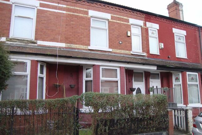 Thumbnail Terraced house for sale in Reynell Road, Longsight, Manchester