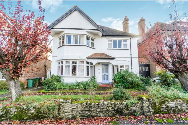 Thumbnail Detached house for sale in Blenheim Avenue, Highfield, Southampton