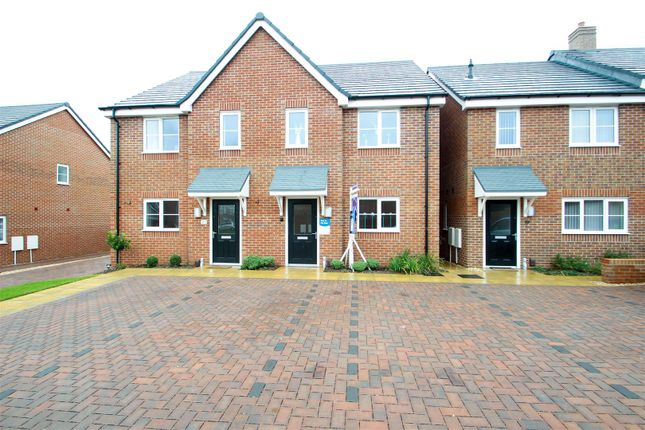 Thumbnail Semi-detached house for sale in Scholars Way, Werrington, Stoke-On-Trent