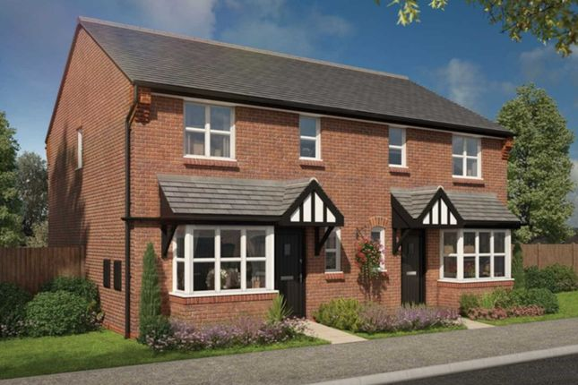 Thumbnail Semi-detached house for sale in William Burton Place, Bromborough Pool, Wirral