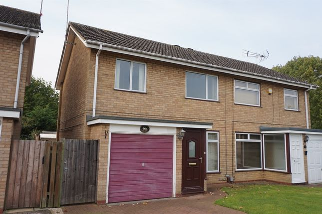 Thumbnail Semi-detached house for sale in Weatherthorn, Orton Malborne, Peterborough