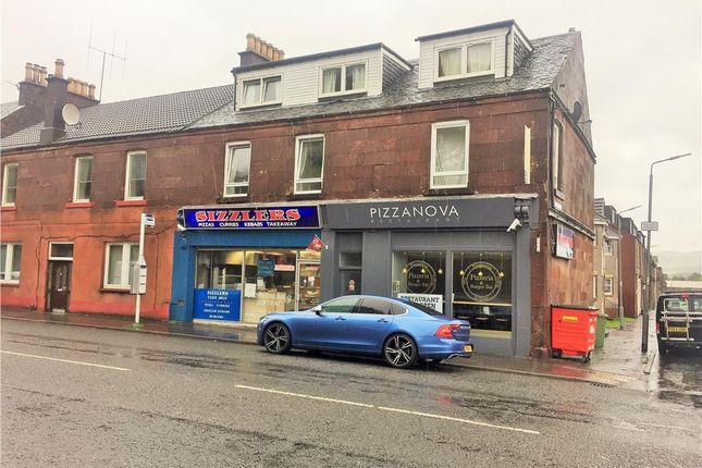 Thumbnail Retail premises for sale in Sizzlers / Pizzanova, 7-9 Main Street, Alexandria, West Dunbartonshire