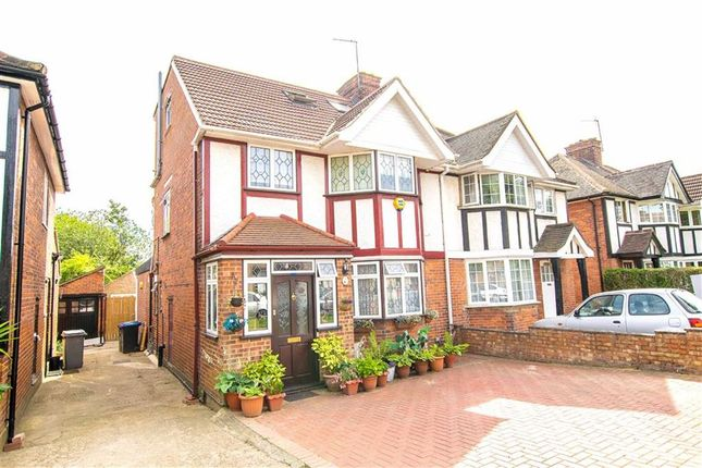 Thumbnail Semi-detached house for sale in Vivian Avenue, Wembley, Middlesex