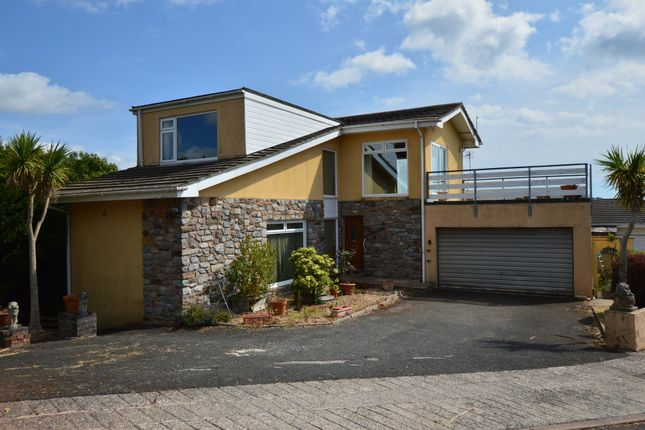 Thumbnail Detached house for sale in Manscombe Close, Torquay