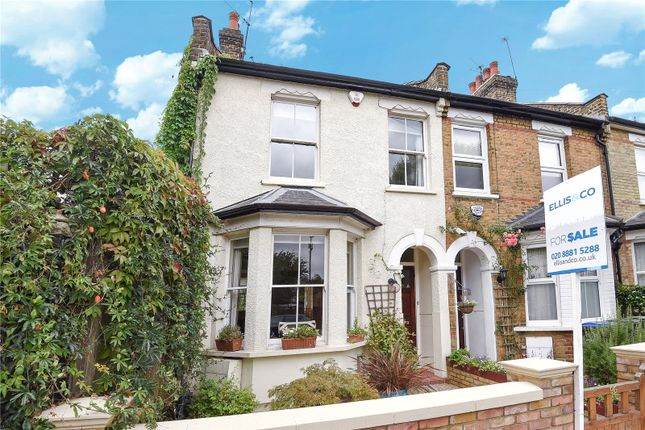 Thumbnail End terrace house for sale in Highworth Road, Bounds Green, London